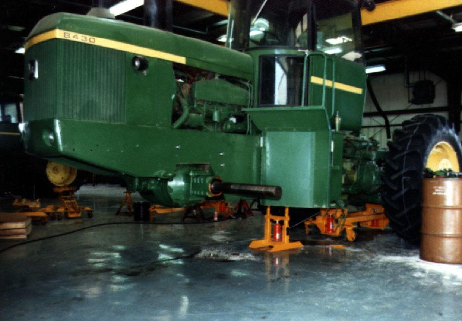 John Deere Tractor Splitting Stands : Tractor splitting equipment related keywords